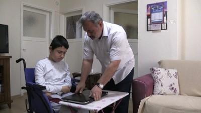 DMD hastası Muhammet tekerlekli sandalyeye bağımlı yaşıyor - YALOVA