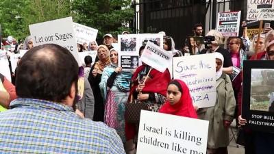 'Filistin'e destek' yürüyüşü - CHICAGO