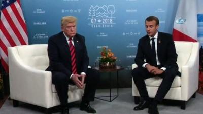 """- Fransa Cumhurbaşkanı Macron, Abd'yi G7'den Çıkarmakla Tehdit Etti - Macron, """"avrupa, Abd'nin Çıkışlarına Mahkûm Olmamalıdır"""""""