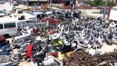hurda arac -  Türkiye'de en fazla hurda araç İstanbul'da var