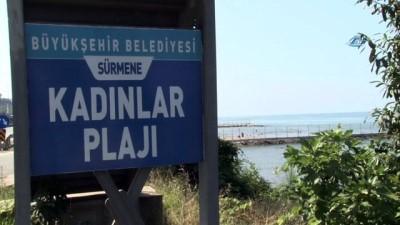 Bu plaj kadınlara özel