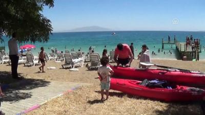 Erciş'te plaj sezonu açıldı - VAN