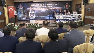 Hak-İş Genel Başkanı Arslan: 'En büyük reformlardan birine imza atıldı' - KAYSERİ