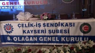 """- Hak İş Genel Başkanı Mahmut Arslan: """"Son kararname ile 50 bin taşeron işçisinin sorunu çözüldü"""""""