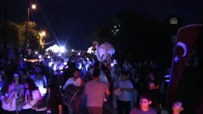'Leylek festivali'nde renkli görüntüler - BURSA