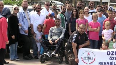 Özel ve engelli öğrencilerin off-road heyecanı - DÜZCE