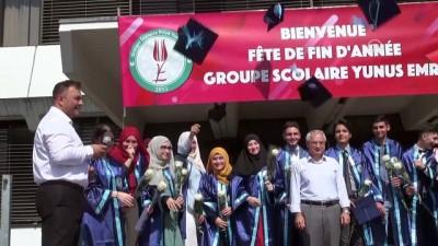 ozel okullar - Strazburg Yunus Emre Lisesi'nde ilk mezuniyet heyecanı