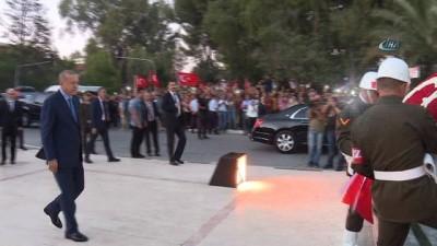 -  Cumhurbaşkanı Erdoğan, KKTC Cumhurbaşkanı Akıncı ile bir araya geldi
