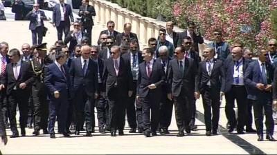 anit mezar -  - Cumhurbaşkanı Recep Tayyip Erdoğan Azerbaycan'da