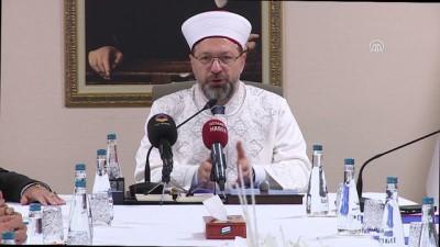 Diyanet İşleri Başkanı Erbaş, Müslüman dini liderleri kabul etti - ANKARA
