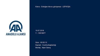 Erdoğan-Akıncı görüşmesi - LEFKOŞA