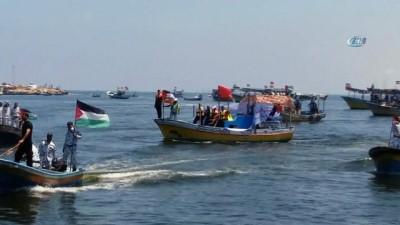 argo -  - Gazze'den İsrail'in Deniz Ablukasını Kırmak İçin İkinci Teşebbüs