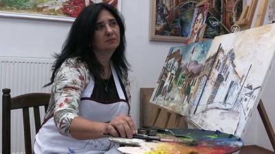 Gürcü ressamın Türkiye tutkusu - TİFLİS