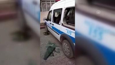 Polis karakoluna ve araçlarına taşlı saldırı - AYDIN
