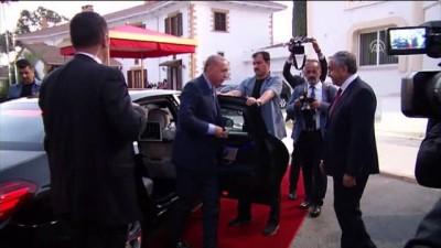 Türkiye Cumhurbaşkanı Erdoğan KKTC'de - Karşılama töreni - LEFKOŞA