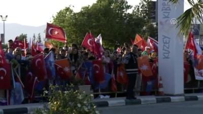 makam araci - Türkiye Cumhurbaşkanı Erdoğan, KKTC'ye geldi - LEFKOŞA