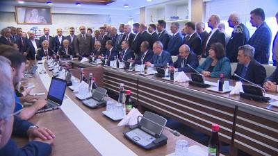 Ulaştırma ve Altyapı Bakanlığında devir teslim töreni (1) - ANKARA
