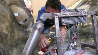 Üniversitelilerin el emeği göz nuru elektromobil: 'Ayvaz' - BOLU