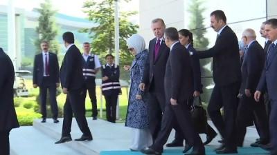 Cumhurbaşkanı Erdoğan Brüksel'e hareket etti - ANKARA