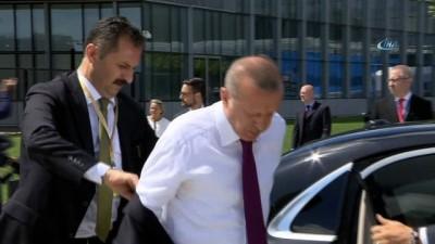 nani -  - Cumhurbaşkanı Erdoğan NATO karargahına geldi