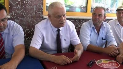 DDY 1. Bölge Müdürü Nihat Aslan'dan Sarılar Mahallesi sakinlerine teşekkür ziyareti - TEKİRDAĞ