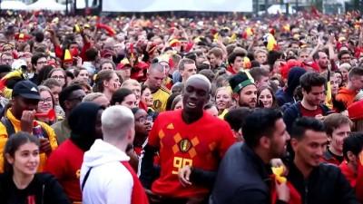 Fransa-Belçika maçının ardından - BRÜKSEL