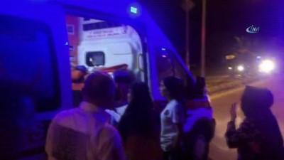 - Hasta sevkine giden ambulans kaza yaptı