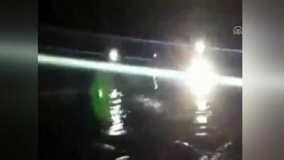 Irmakta mahsur kalan aile itfaiye ekiplerince kurtarıldı - ZONGULDAK