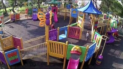 Kameralı parklarla çocuklar daha güvende
