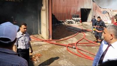 - Malatya'da fabrika yangını
