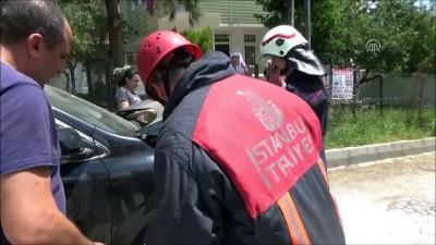 Silivri'de kedi kurtarma operasyonu - İSTANBUL