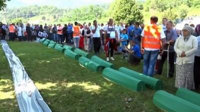- Srebrenitsa Soykırımı 23. Yılında Anıldı - 35 Soykırım Kurbanı Daha Defnedildi