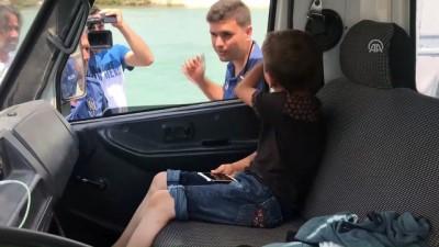 kanald - Sulama kanalına giren genç kayboldu - ADANA