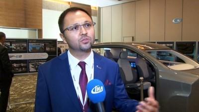 Sürücüsüz otonom araç Türkiye'de sergilenmeye başladı