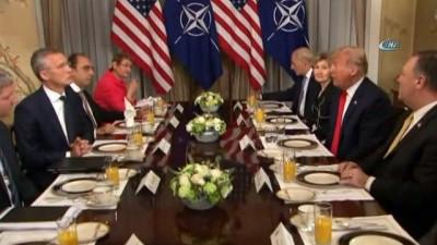 - Trump, Stoltenberg İle Kahvaltı Yaptı