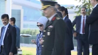 Türkiye Cumhuriyeti Başkanı Erdoğan Brükel'e gitti