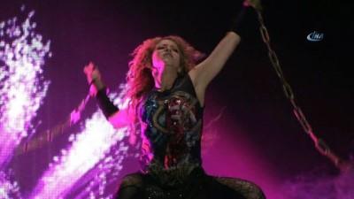 11 yıl aradan sonra İstanbul'da gerçekleşen Shakira konserine yoğun ilgi