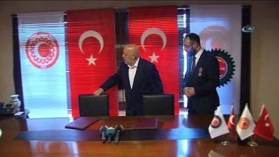 maneviyat -  - 15 Temmuz öncesi anlamlı protokol - HAK-İŞ ile Türkiye Gaziler ve Şehit Aileleri Vakfı arasında iş birliğine imza atıldı