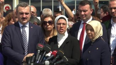 15 Temmuz Şehitler Köprüsü davası - AK Parti Genel Başkan Yardımcısı Kan - İSTANBUL