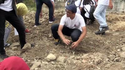 'Batı Karadeniz'in Efes'inde kazı çalışmalarına katıldılar - DÜZCE