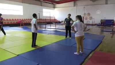 Down sendromlu cimnastikçilerin hedefi olimpiyatlar - ADIYAMAN