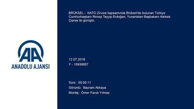 nani - Erdoğan - Çipras görüşmesi - BRÜKSEL