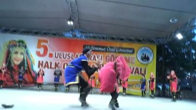 Göreme'de 5.Uluslararası halk oyunları festivali başladı