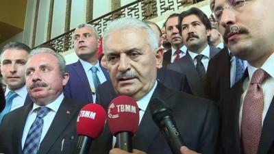 TBMM Başkanı Yıldırım: 'Meclisin tüm meseleleri, ülkenin bütün meseleleri bizim meselemizdir' - TBMM