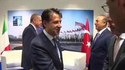 Türkiye Cumhurbaşkanı Erdoğan, İtalya Başbakanı Conte ile görüştü - BRÜKSEL