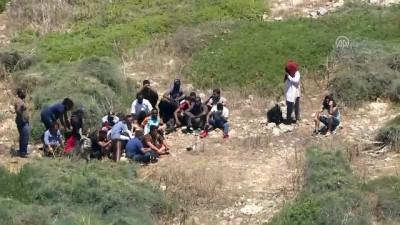 Adada mahsur kalan kaçaklar için kurtarma operasyonu (5) - İZMİR