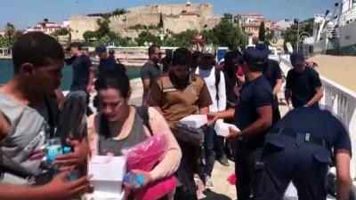 Adada mahsur kalan kaçaklar için kurtarma operasyonu (6) - İZMİR