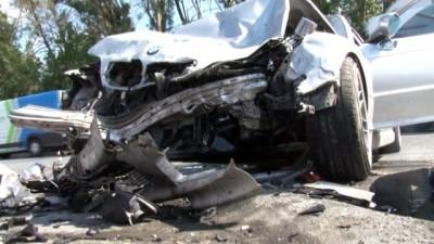Astsubayların karıştığı kaza güvenlik kamerasında