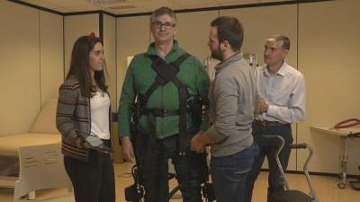 'Dış iskelet' felçli hastaların hayatını değiştirecek