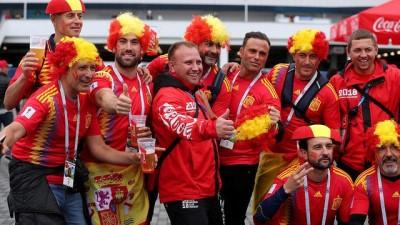 Dünya Kupası: İspanya ve Fas maçı renkli görüntülere sahne oldu
